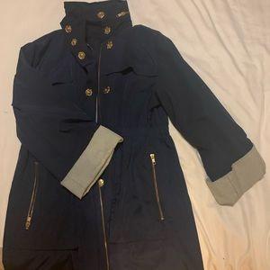 Ali Ro Navy Lined Anorak Jacket